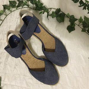 Lauren Ralph Lauren Charla Wedge Sandal